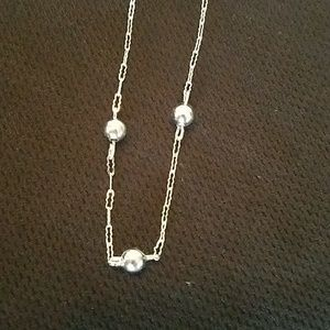 Sterling delicate necklace
